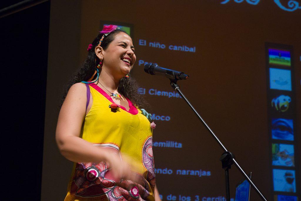 Silvia Valencia Gestora cultural y voz principal del proyecto
