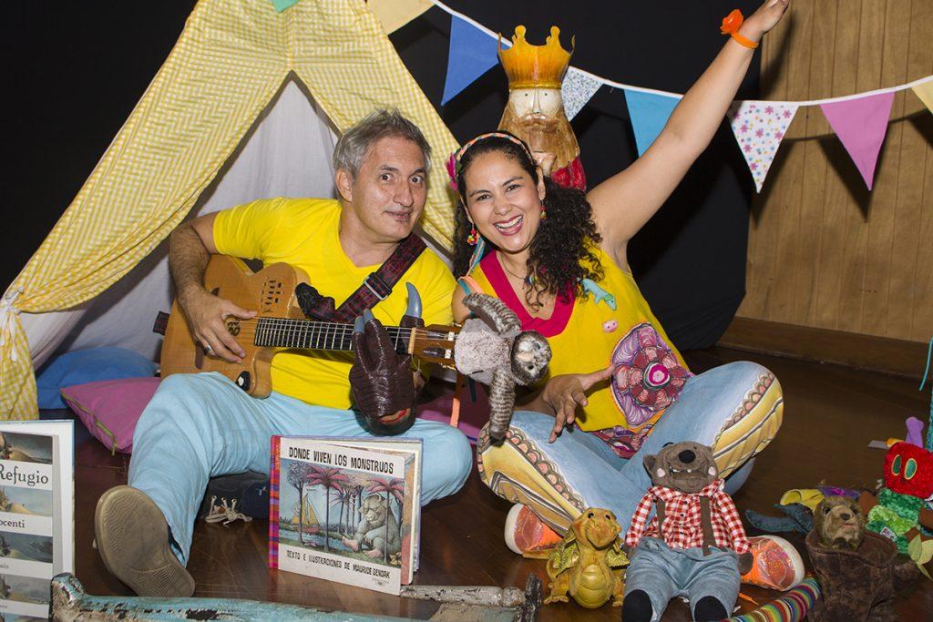 Silvia Valencia y Mauricio Palau