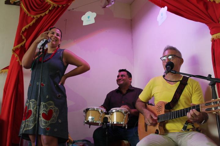 Momentos de conciertos de Cuento Cantao